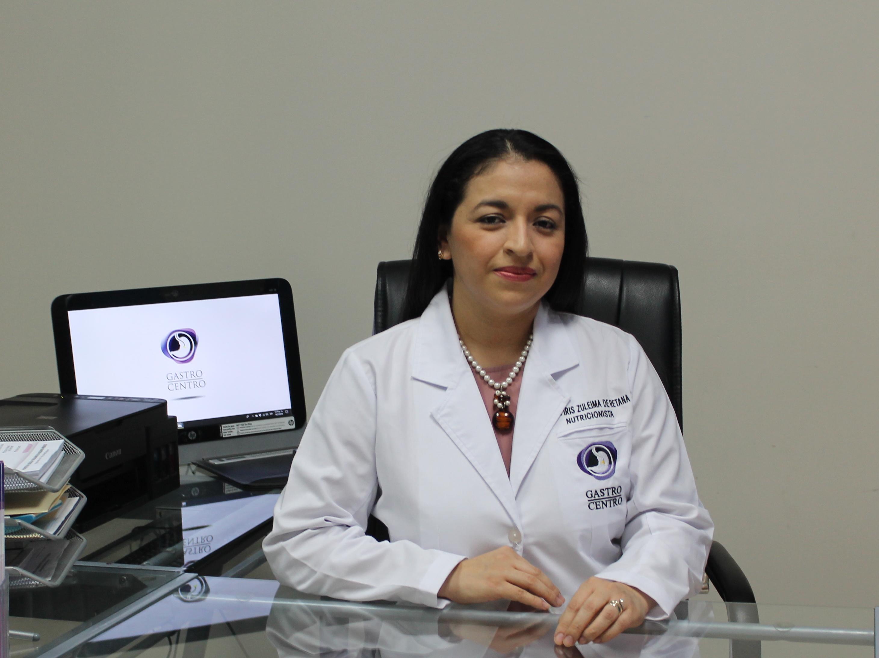 LICENCIADA ZULEIMA PÉREZ DE RETANA (nutricionista)